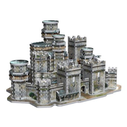 Game of Thrones - Winterfell 3D Puzzle (910pc)